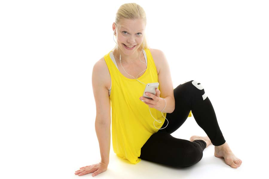 PT Caroline Nilsson är personlig tränare i Stockholm
