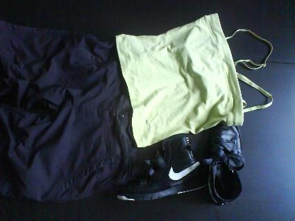 dagens träningskläder