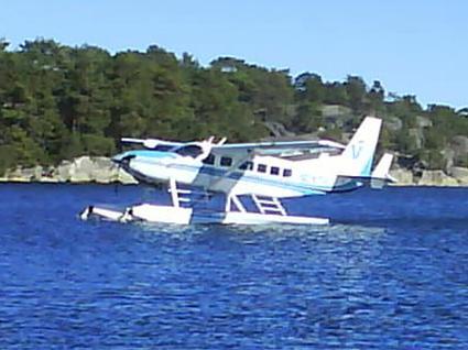 sjöflyg från Sandhamn