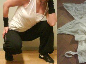 dans träningskläder