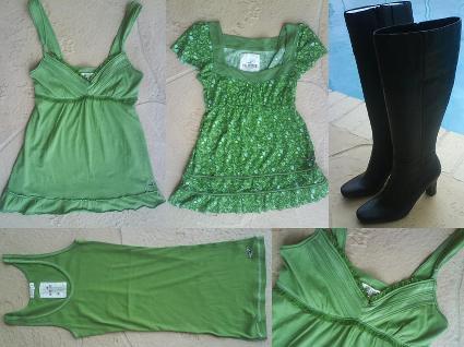 gröna plagg