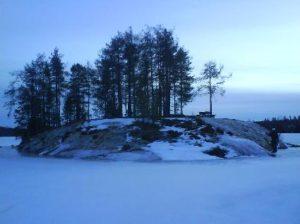 berget i öjesjön