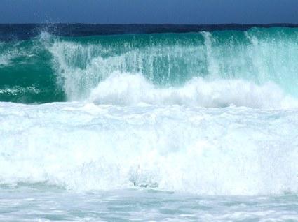 vågor vid Godahoppsudden