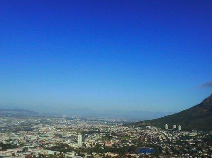 utsikten från toppen av Lions Head
