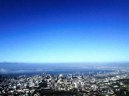 vilken utsikt i Kapstaden