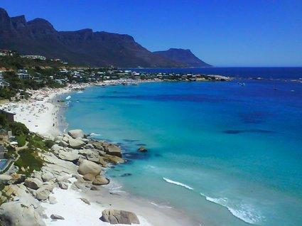 fin strand i Kapstaden