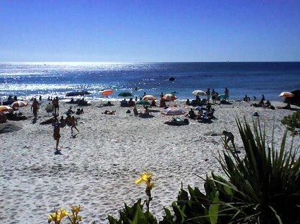 strandhäng i Kapstaden