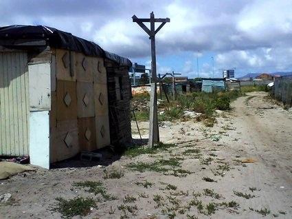 kåkstäderna i Sydafrika