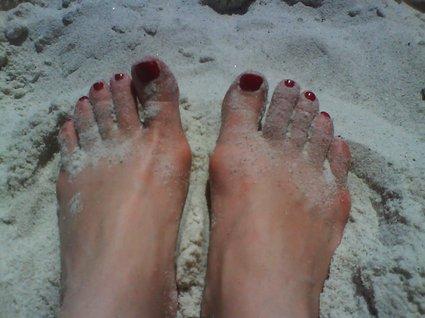 sand i Sydafrika