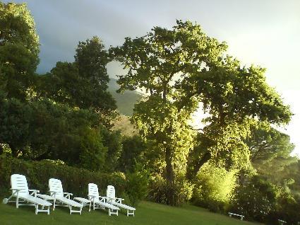här bodde jag i Stellenbosch