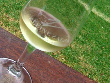Vinprovning i Stellenbosch