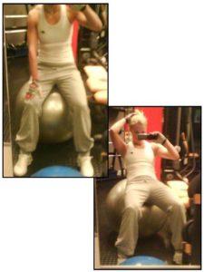 träningskläder och bra övningar