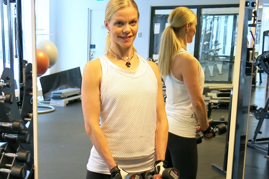 bättre hållning när du tränar är viktigt