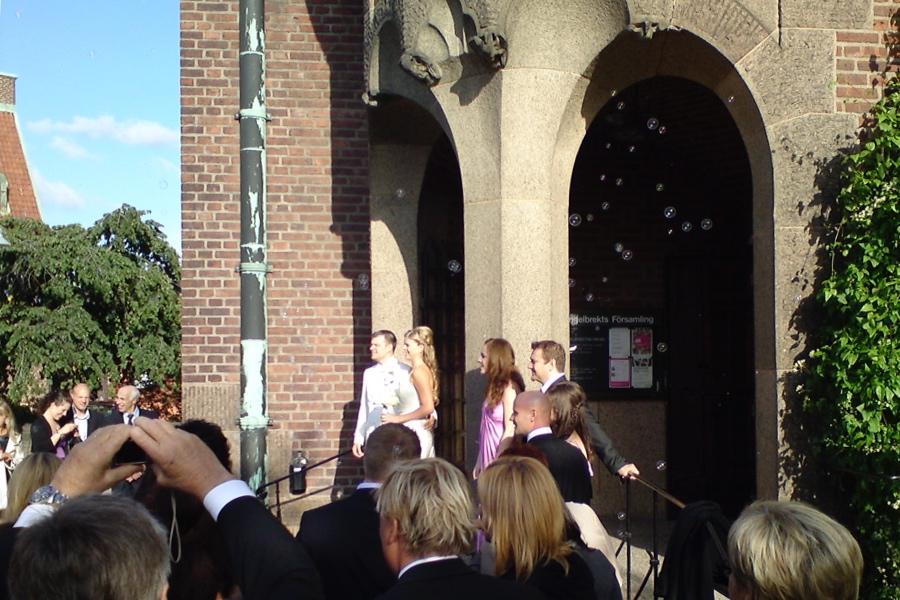 Terese och Glenn 5 september 2009.