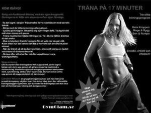 Träna på 17 minuter i svart vitt