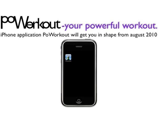 App för träning = Poworkout