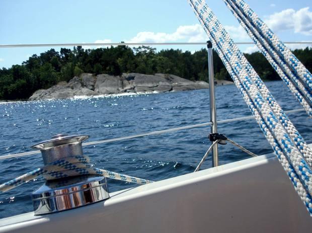 Etapp 3 på seglingsemestern