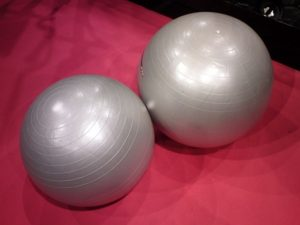 träning med pilatesboll är toppen