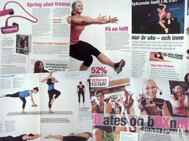 Tjuvtitta i nya Fitness Magazine