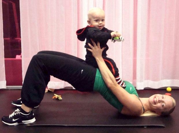 mammaträning med GymGlam