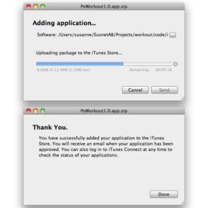 Poworkout snart i App Store