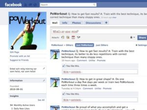 poworkout på facebook
