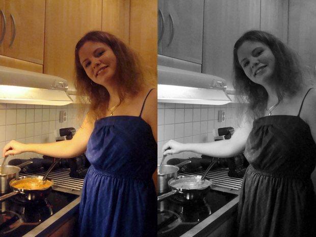 Festmåltid hos Susanne
