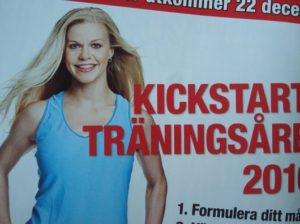 kickstarta träningsåret
