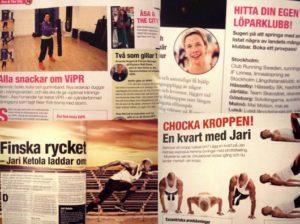senaste nytt i Fitness Magazine