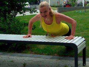 styrketräning utomhus