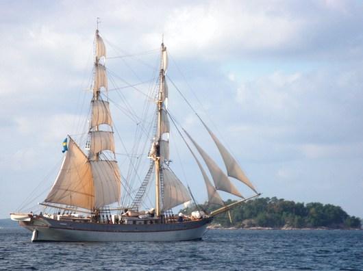 Sista helgen med segelbåten