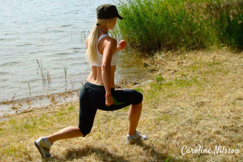 utfallsgång är bra träning för underkroppen