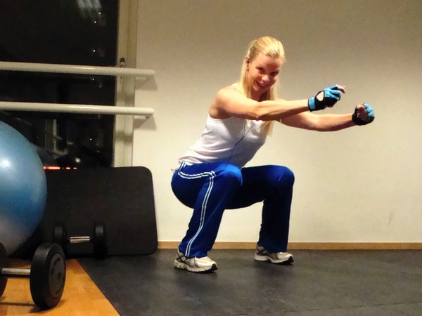 Dag 1 i träningsutmaningen