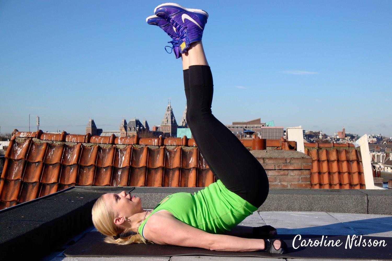 Träningsprogram för magen