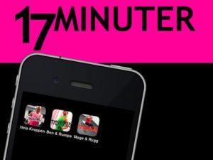 Mina appar 17 minuter