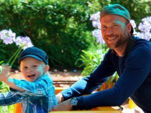 Vidar och Erik på Eskilstuna Zoo