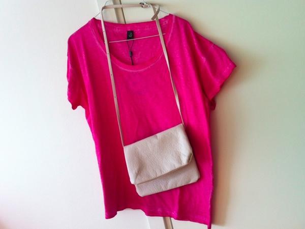 Nya tröjan & nya väskan