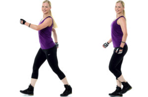 Rask promenad i träningssyfte