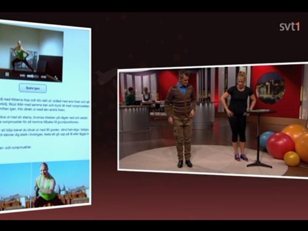 Träningsapparna Poworkout på TV