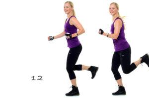 Bränn fett genom att jogga på stället