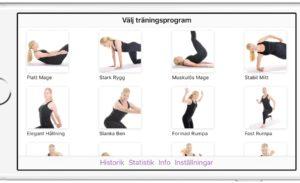 App me kroppsviktsträning