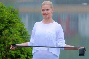 Caroline Nilsson tipsar om gummibandsträning