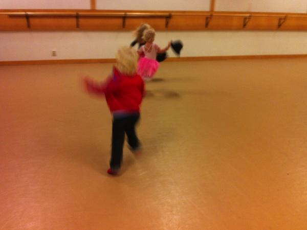 Barndans för 3-åringar