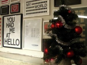 julgram på Lagerhaus