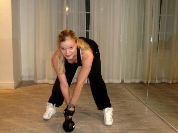 Kettlebells och styrketräning