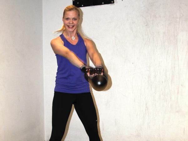 Mera träning med kettlebells