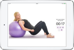 Effektiva träningsövningar med pilatesboll