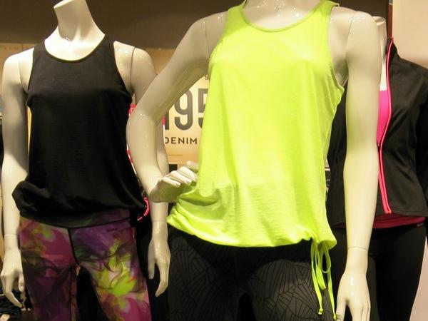 Träningskläderna på Kappahl