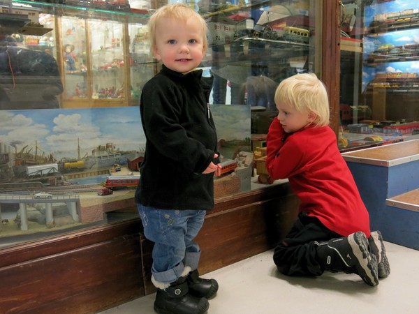 Mammadag på Spårvägsmuseet
