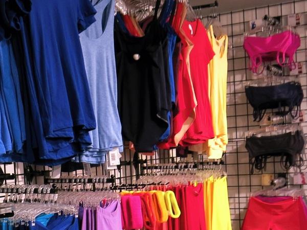 färgglatt utbud träningskläder
